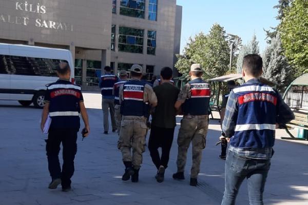 Kilis'te 2 terörist yakalandı