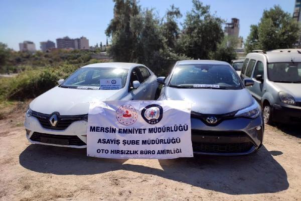 Kiralık otomobiller, Mersin'deki depoda parçalanmış olarak bulundu