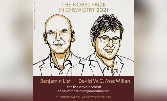 Nobel Kimya Ödülü, Benjamin List ve David MacMillan'a verildi