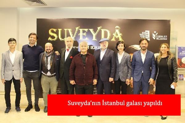 Suveyda'nın İstanbul galası yapıldı