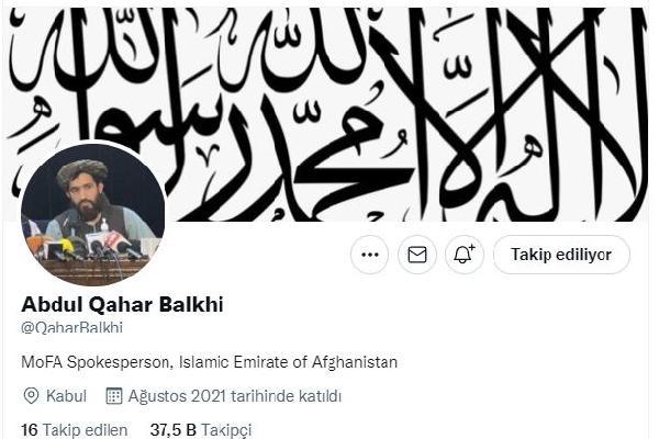 Taliban Dışişleri Bakanlığı Sözcüsü: Dışişleri Bakanı Muttaki başkanlığındaki heyet Türkiye'de