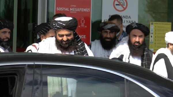Taliban heyeti, Türkiye'ye geldi (2)