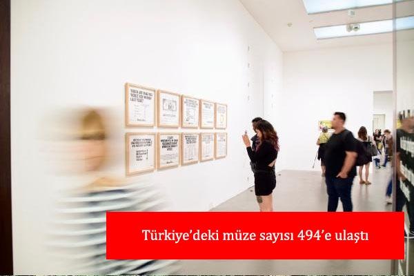 Türkiye'deki müze sayısı 494'e ulaştı
