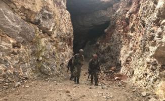 Afrin'de EYP imha anı, yer altı hastanesi ve tam donanımlı tüneller