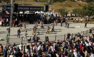 Bursa'nın Ata Sporları Festivali'ne rekor ilgi