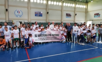 Yaz Kur'an kurslarında spor vakti