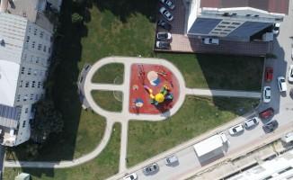 Çitlenbik Parkı  çocukların eğlence merkezi oldu
