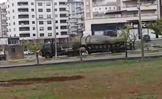 Suriye sınırına tank sevkiyatları sürüyor
