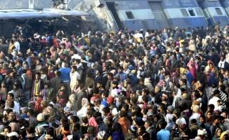Hindistan'da tren faciası: 7 ölü, 29 yaralı