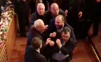 Bursaspor Mali Genel Kurulunda kavga çıktı