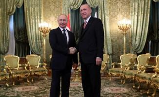 Erdoğan-Putin'den açıklama