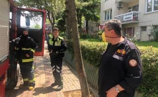 Bursa'da doğalgaz sızıntısı caddeyi trafiğe kapattırdı