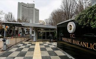 Türkiye'den israil'e sert tepki