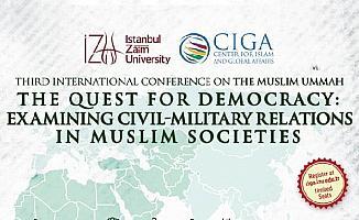 3'üncü Uluslararası İslam Dünyası Konferansı başlıyor