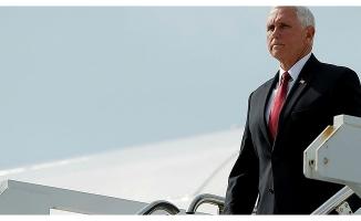 ABD Başkan Yardımcı Pence ve Dışişleri Bakanı Pompeo Ankara'ya geldi .