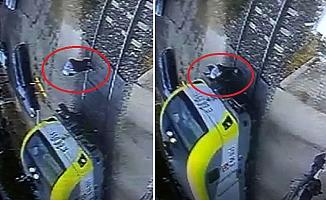 Adıyaman'da tren yaşlı kadına çarptı