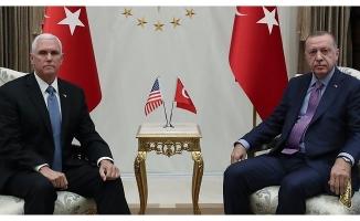 Başkan Erdoğan-Pence görüşmesi sona erdi .