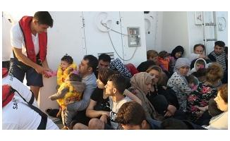 Çanakkale'de 314 düzensiz göçmen yakalandı