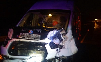 Feci kazada 4 kişi yaralandı!