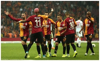 Galatasaray evinde 3 puanı aldı