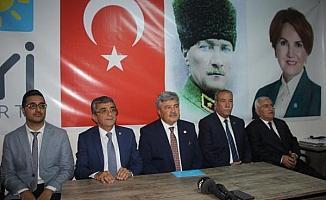 İYİ Parti'li Ergun: Bugün siyasette tartışmaları rafa kaldıracağımız gündür