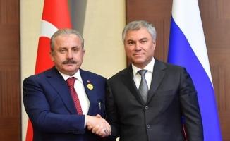 Şentop, Rusya Duması Başkanı Volodin ile telefonda görüştü