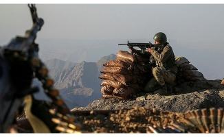 Şırnak'ta 1 PKK'lı terörist etkisiz hale getirildi .