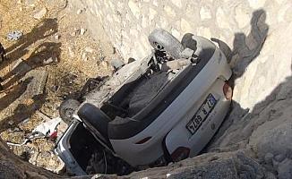 Sürücünün öldüğü kaza kamerada