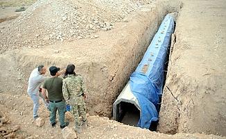 Teröristler Tel Abyad'ı köstebek yuvasına çevirmiş