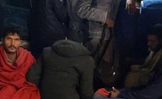Ankara'da 97 kaçak göçmen yakalandı