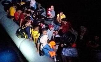 Didim'de 46 kaçak göçmen yakalandı
