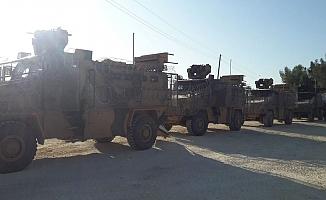 Türk ve Rus askerlerinin 8. ortak kara devriyesi yapıldı