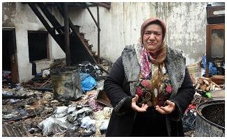 '27 yıllık yuvam yandı'