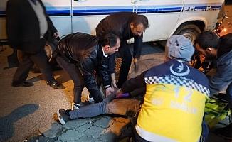 Aydın'da motosiklet kazası