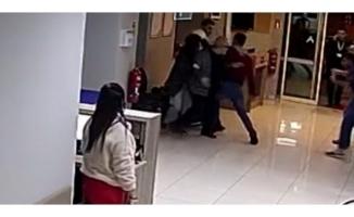 Hastane çalışanı saldırıya uğradı