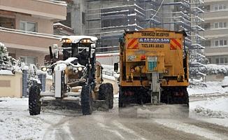 Osmangazi karla mücadeleye hazır