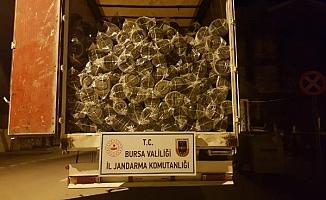 Bursa'da milyonluk operasyon