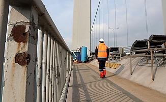 15 Temmuz Şehitler Köprüsü'nde hain darbenin izleri!