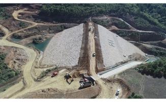 Bursa İnegöl'de baraj inşaatı