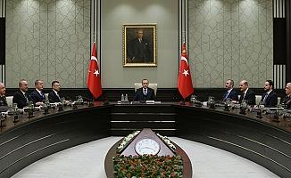 Cumhurbaşkanı'nın başkanlığındaki kritik toplantı sona erdi!
