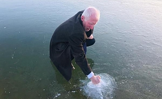 Dondurucu soğuklar göllerin donmasına yolaçtı