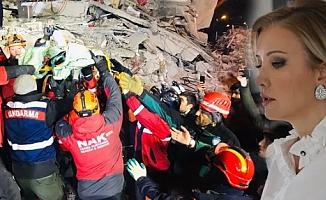 Sanatçı Berna Laçin'in deprem paylaşımına tepkiler çığ gibi büyüdü!