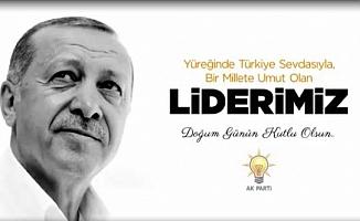 AK Parti Grubu'ndan Erdoğan'a doğum günü kutlaması