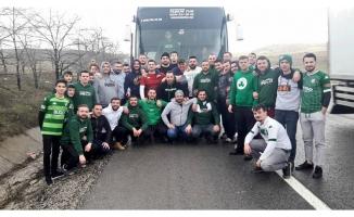 Yeşil-beyazlıların arma peşinde 30 saatlik yol macerası