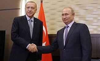 Başkan Erdoğan ve Putin görüştü