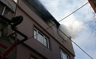 Bursa'da fırın yangın çıkardı!