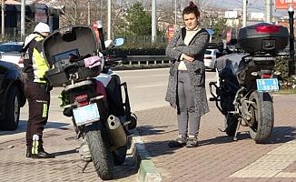 Bursa'da kızını eve götürmek isterken karakolluk oldu!