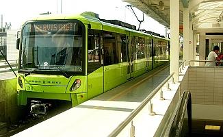Bursa'da metroda arıza!