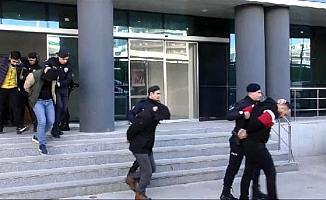 Bursa'da operasyon:18 gözaltı