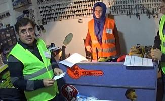 Bursa'da yeni kadın emektarlar
